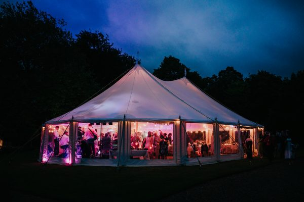 Garden Wedding Marquee