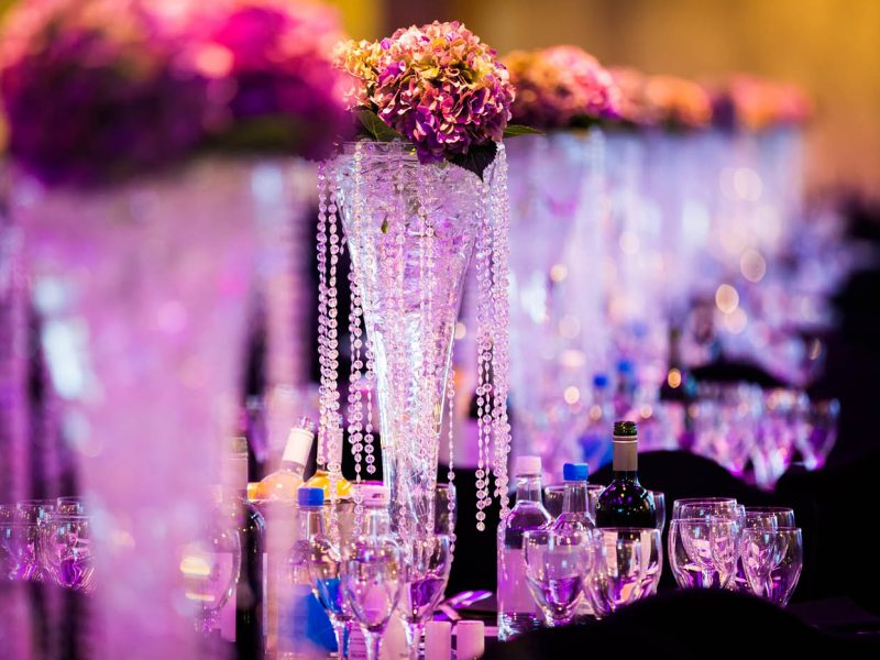 London Event Planner Grosvenor House Hotel Centrepieces