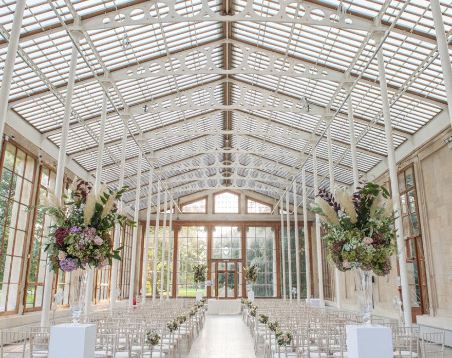 Kew Gardens Wedding Venue London