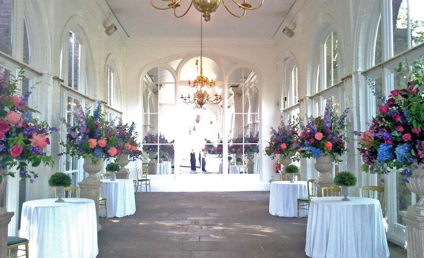 Holland Park Orangery London Wedding Venue