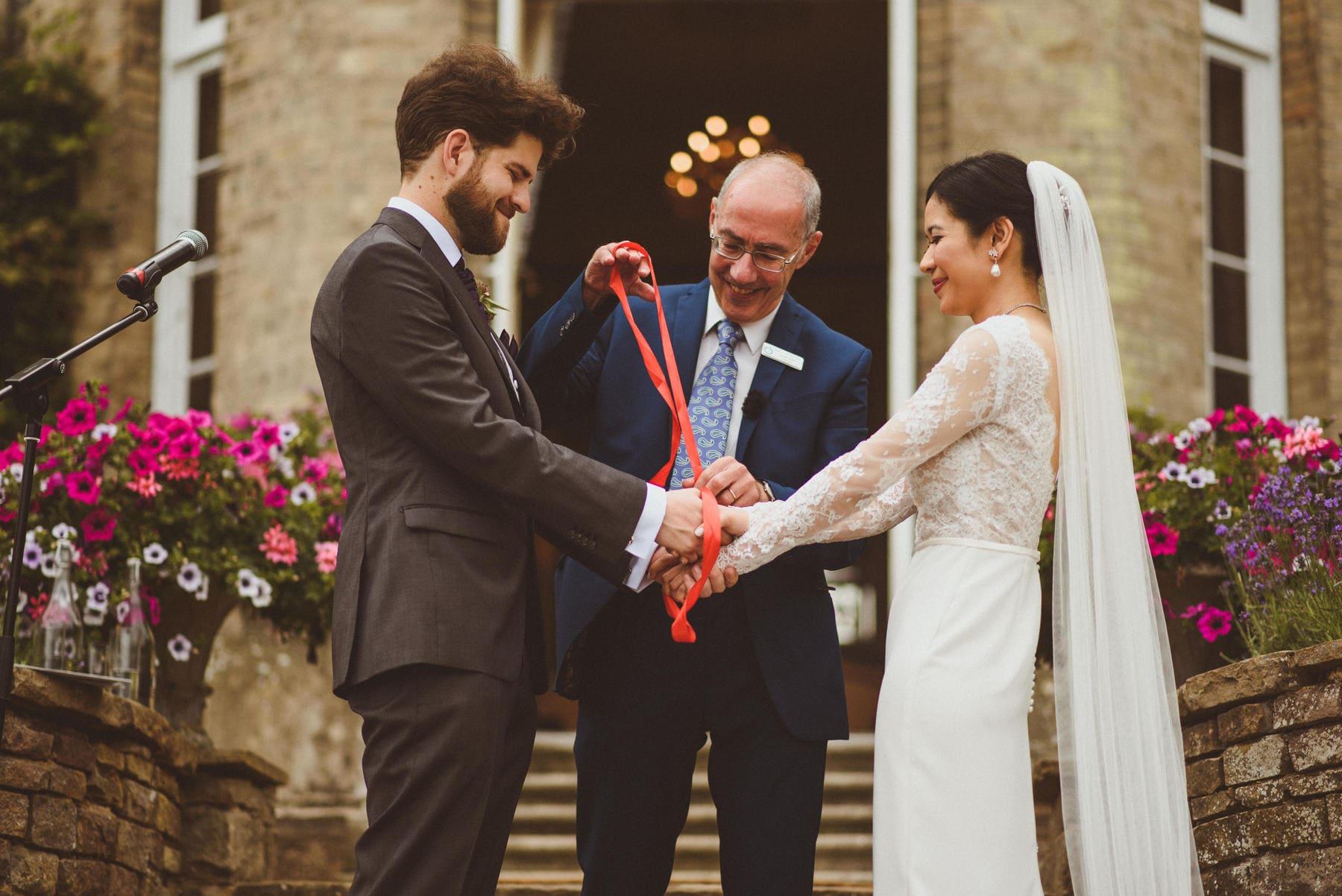 Hedsor House Wedding Planner Buckinghamshire Hand Fasting Ceremony