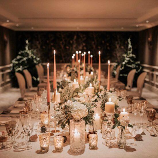 Covid Micro Wedding Table
