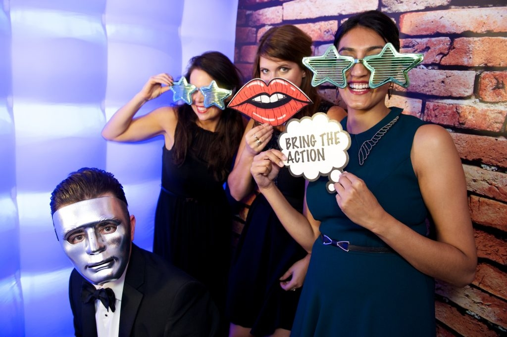 London Party Planner Photo Booth Grosvenor House Hotel